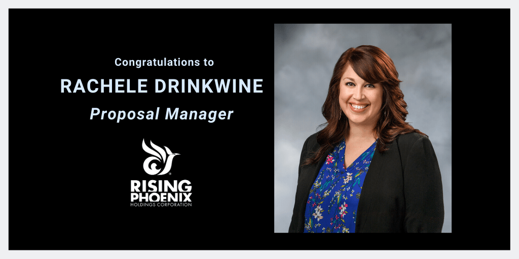 Rachele Drinkwine Receives Well-Deserved Promotion to Proposal Manager Thumbnail Image