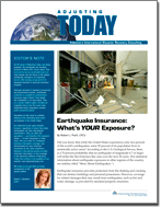 Earthquake Insurance: What's Your Exposure?