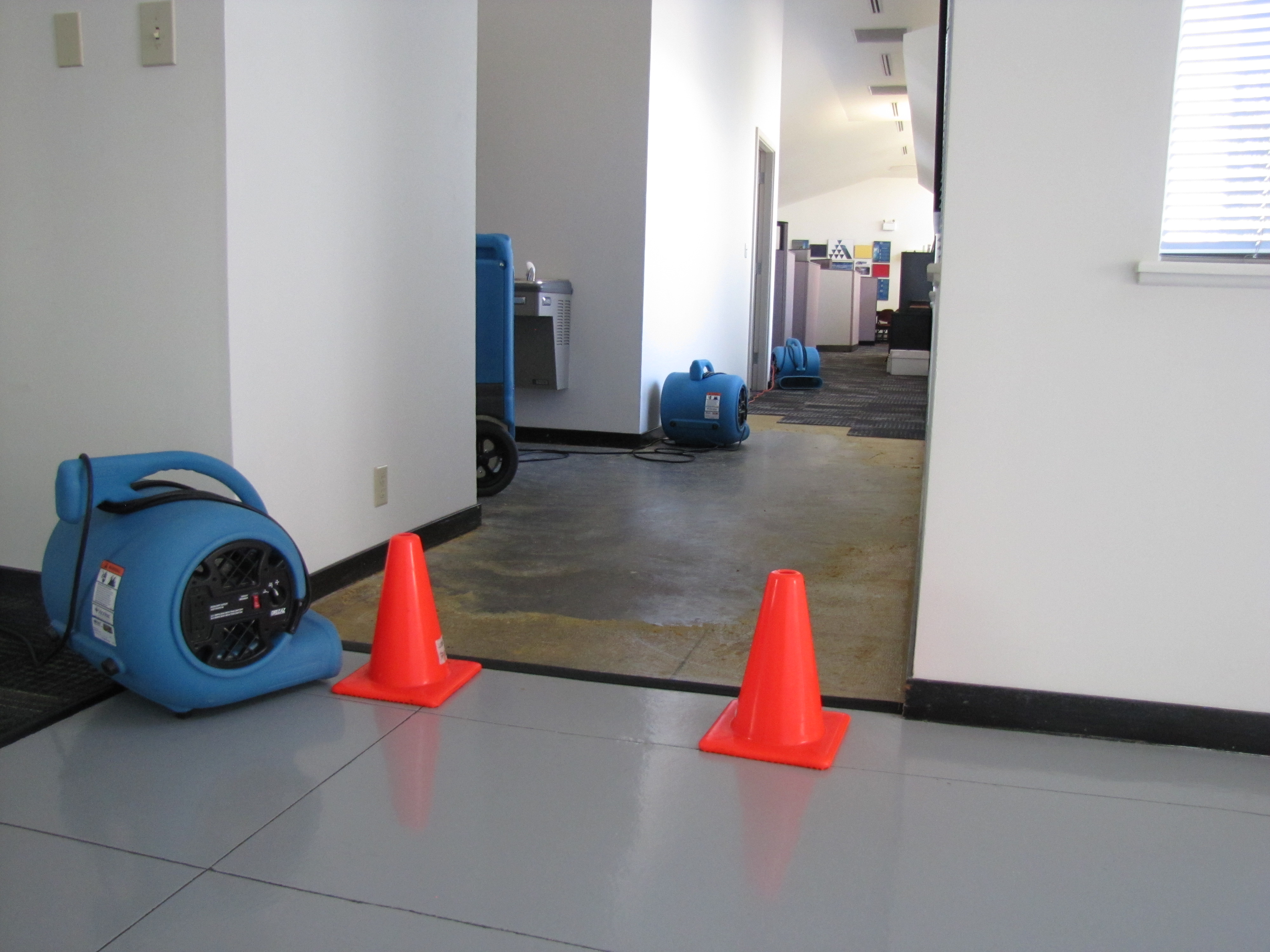 Commercial Water Damage Insurance Claim