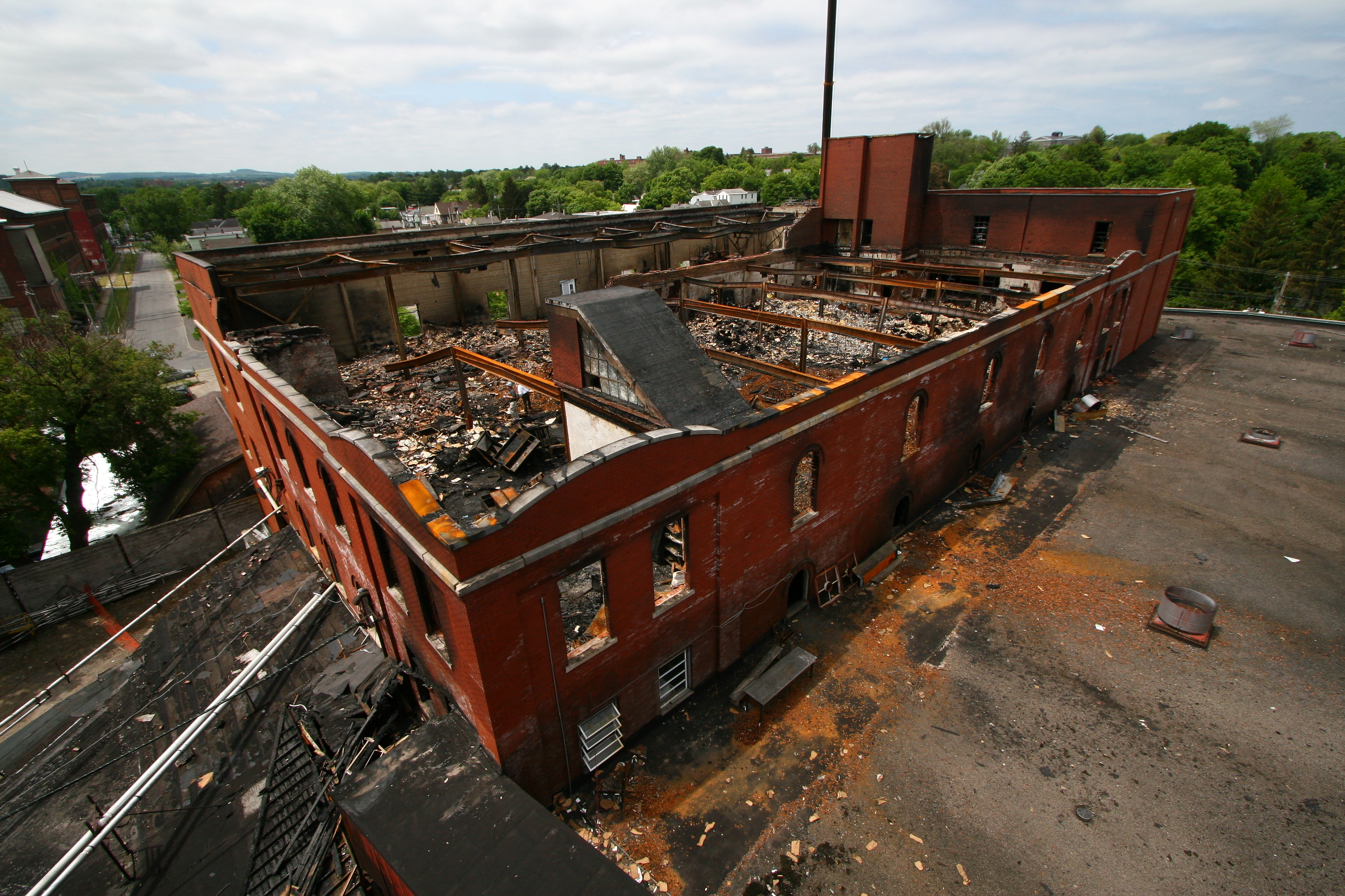 Commercial Business Fire Damage Insurance Claim Adjusters International