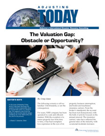 Adjusting Today - The Valuation Gap: The Valuation Gap