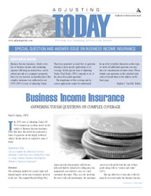 Business Income Insurance Q&A