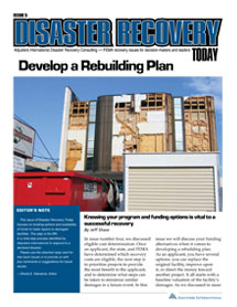Develop a Rebuilding Plan