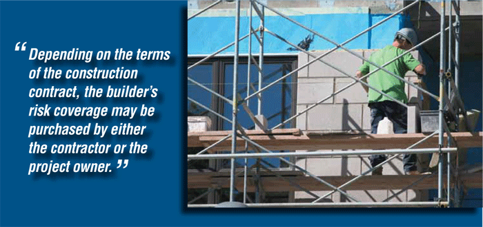 Depending on the terms of the construction contract