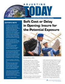 Adjusting Today - Soft Cost or Delay in Opening: Soft Cost or Delay in Opening