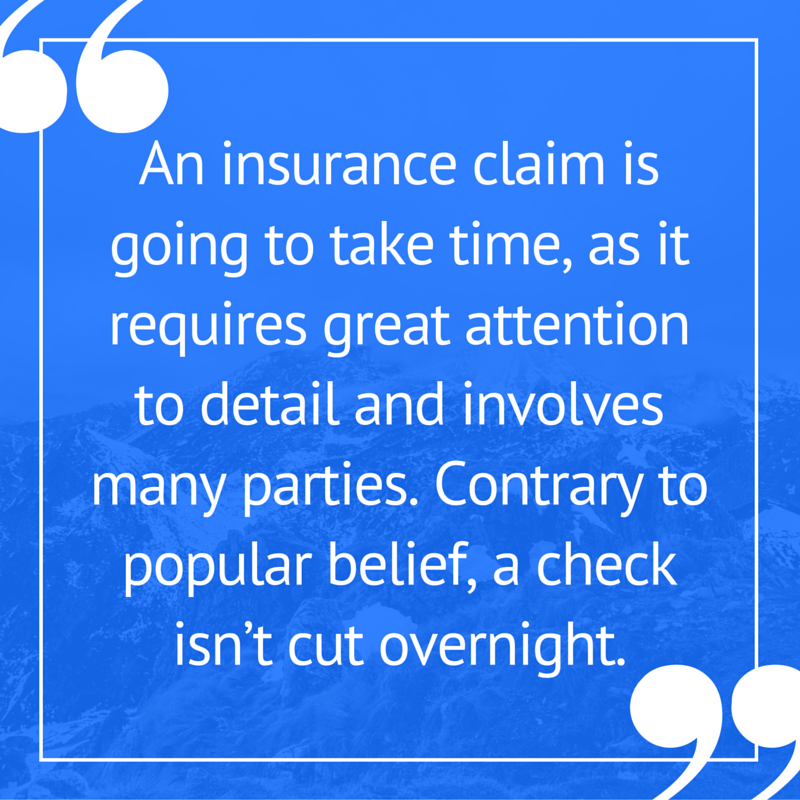 Property Insurance Claim