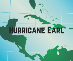 Tropical Storm Earl Now Category 1 Hurricane