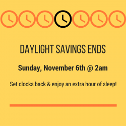 5 Things to Do With That Extra Hour of Sleep – Daylight Savings Ends
