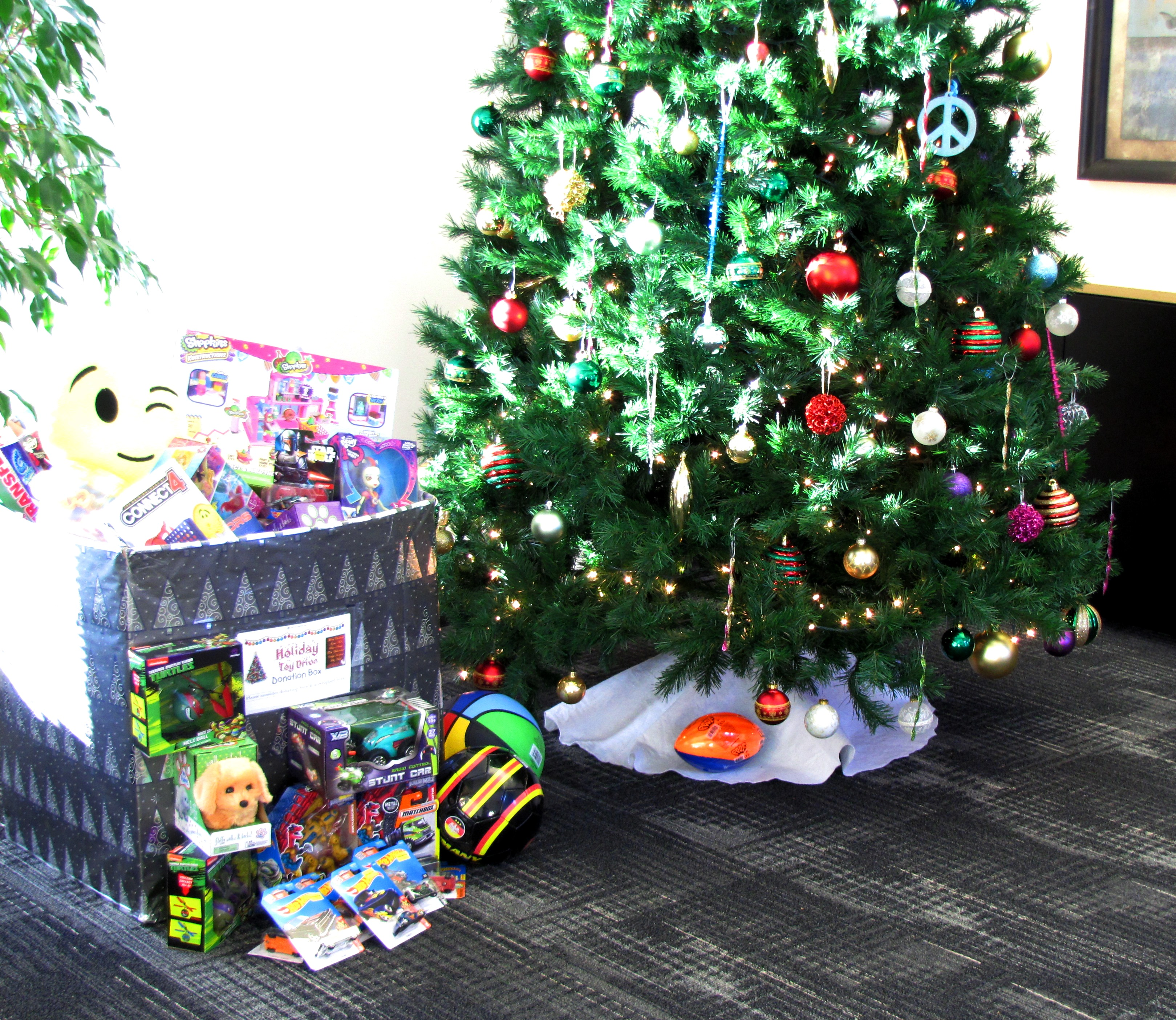 AI Spreads Holiday Cheer by Donating to Toys for Tots