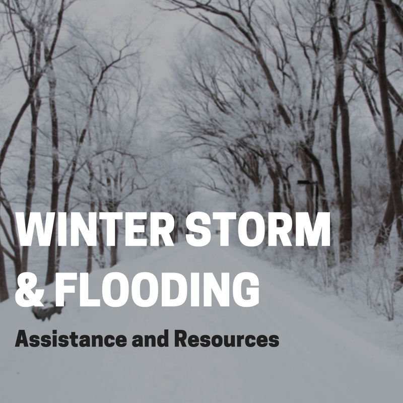 Winter Storm & Flooding Resources and Assistance