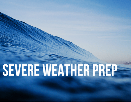 March is Severe Weather Preparedness Month