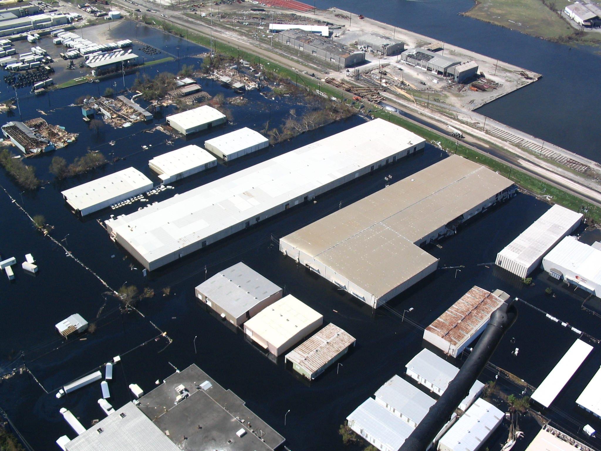 Hurricane Katrina Business Damage