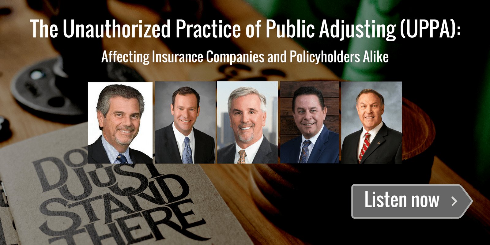 "New Podcast Released on ""The Unauthorized Practice of Public Adjusting (UPPA)"""